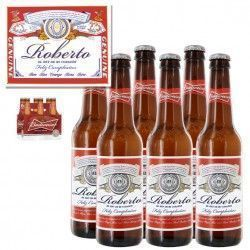Budweiser Beer Personalized