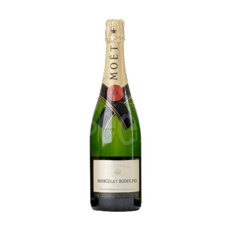 Champagne Moët Chandon Personalized